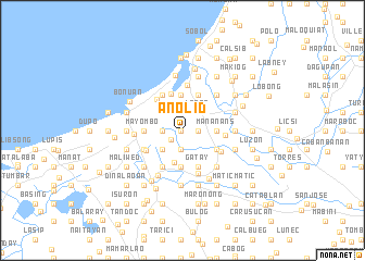 map of Anolid