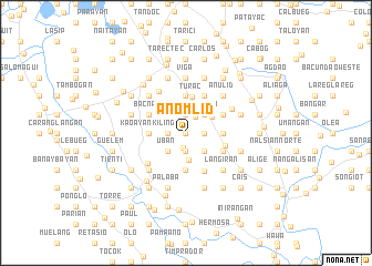 map of Anomlid