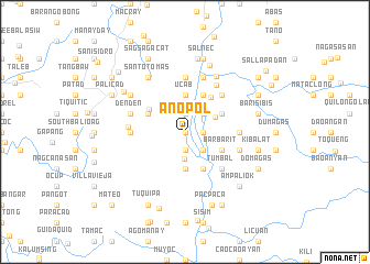 map of Anopol