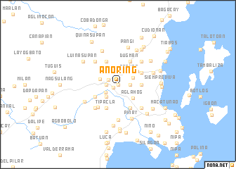 map of Anoring