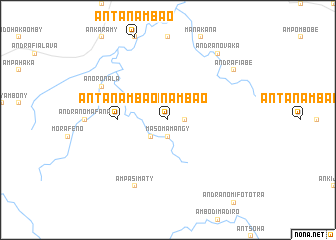 map of Antanambao