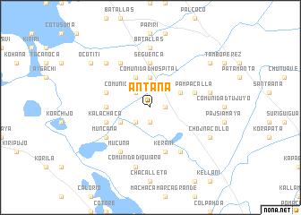 map of Antana