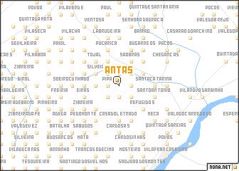 map of Antas
