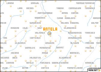 map of Antela