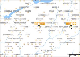 map of Antigo