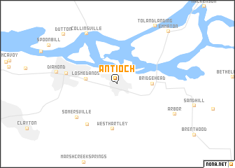 map of Antioch