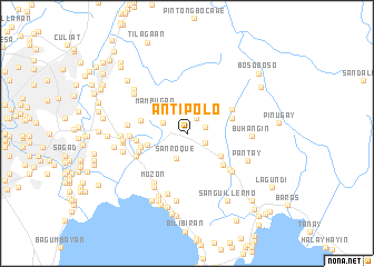 Antipolo Philippines map nonanet