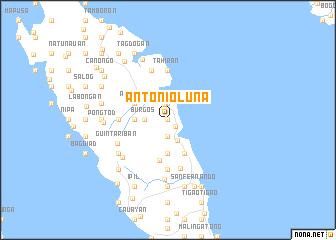 map of Antonio Luna