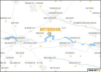map of Antonivka