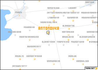 map of Antonovka