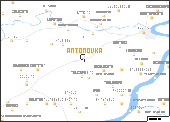 map of Antonovka