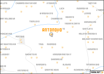 map of Antonovo