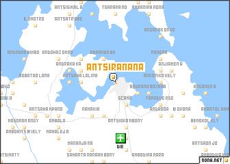 map of AntsiraḤana