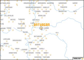 map of Antuagan