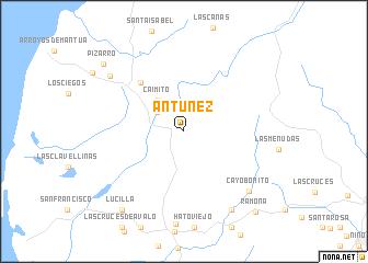map of Antúnez