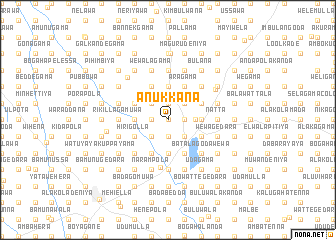 map of Anukkana