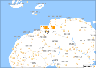 map of Anuling