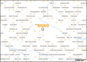 map of Anusin