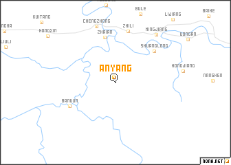 Anyang China Map Nona Net