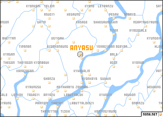 map of Anyasu