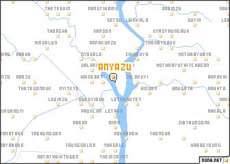 map of Anyazu