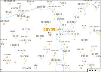 map of Anyŏsu