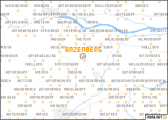 map of Anzenberg