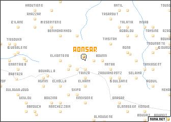 map of Aonsar