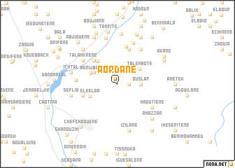 map of Aordane