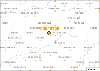 map of Aouchtam
