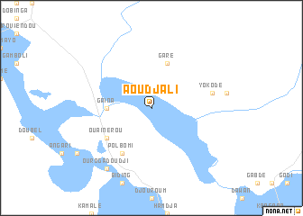 map of Aoudjali