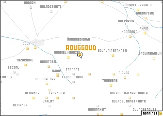 map of Aouggoud