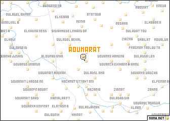 map of Aoumarat