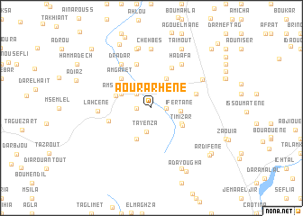 map of Aourarhene