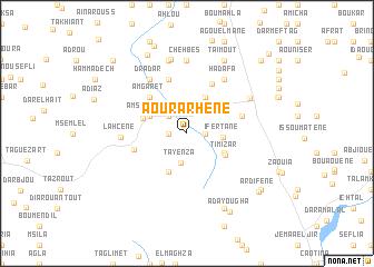 map of Aourarhene