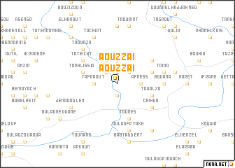map of Aouzzai