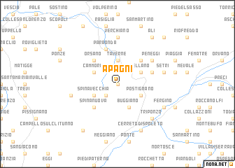 map of Apagni