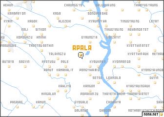map of Apala