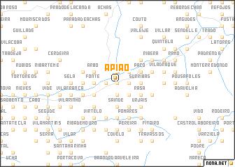 map of Apião