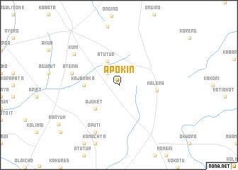 map of Apokin