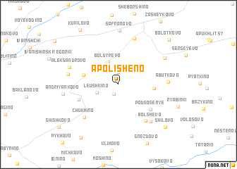 map of Apolisheno