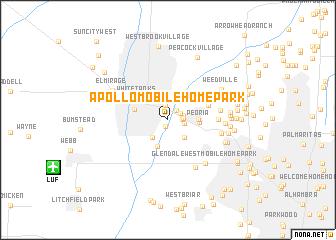 map of Apollo Mobile Home Park