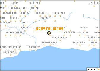 map of Apostolianós