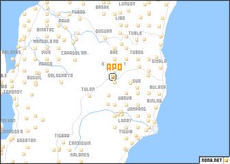 map of Apo