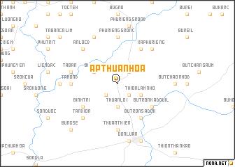 map of Ấp Thuận Hóa