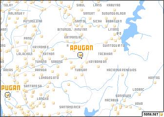 map of Apugan