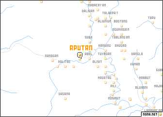map of Aputan
