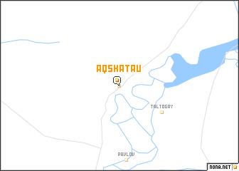 map of Aqshataū