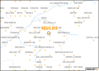 map of Aquilaia