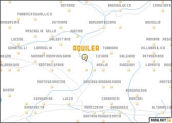 map of Aquilea